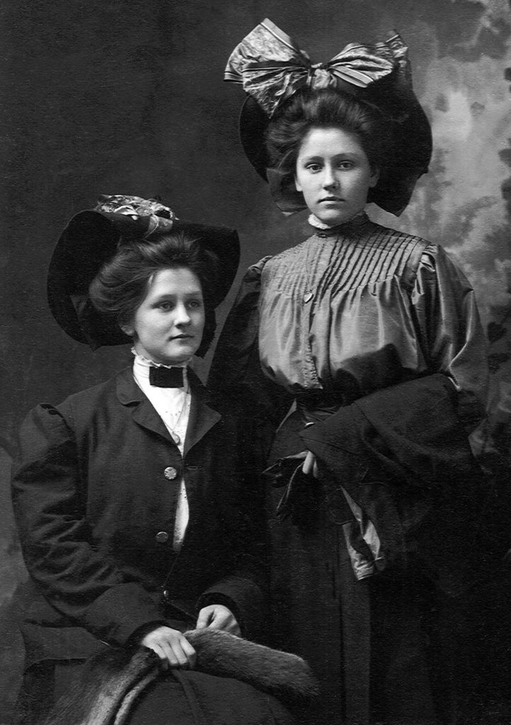 Ethel and Lillie Haley