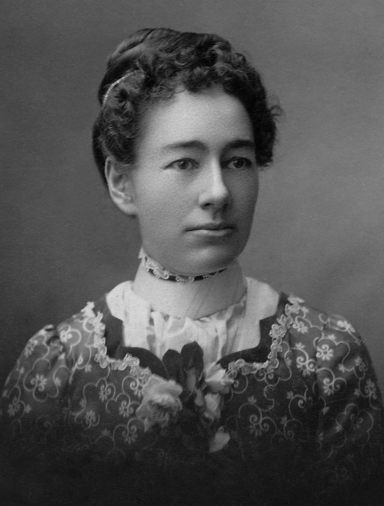 Nellie Rowell Gould-BW 1865-1933